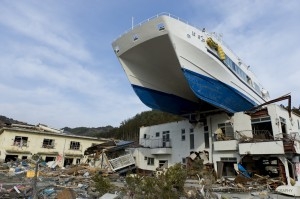 Otsuchi - 12 days after the Tsunami.
