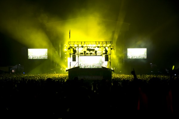 Fuji Rock 2011. The Green Stage.